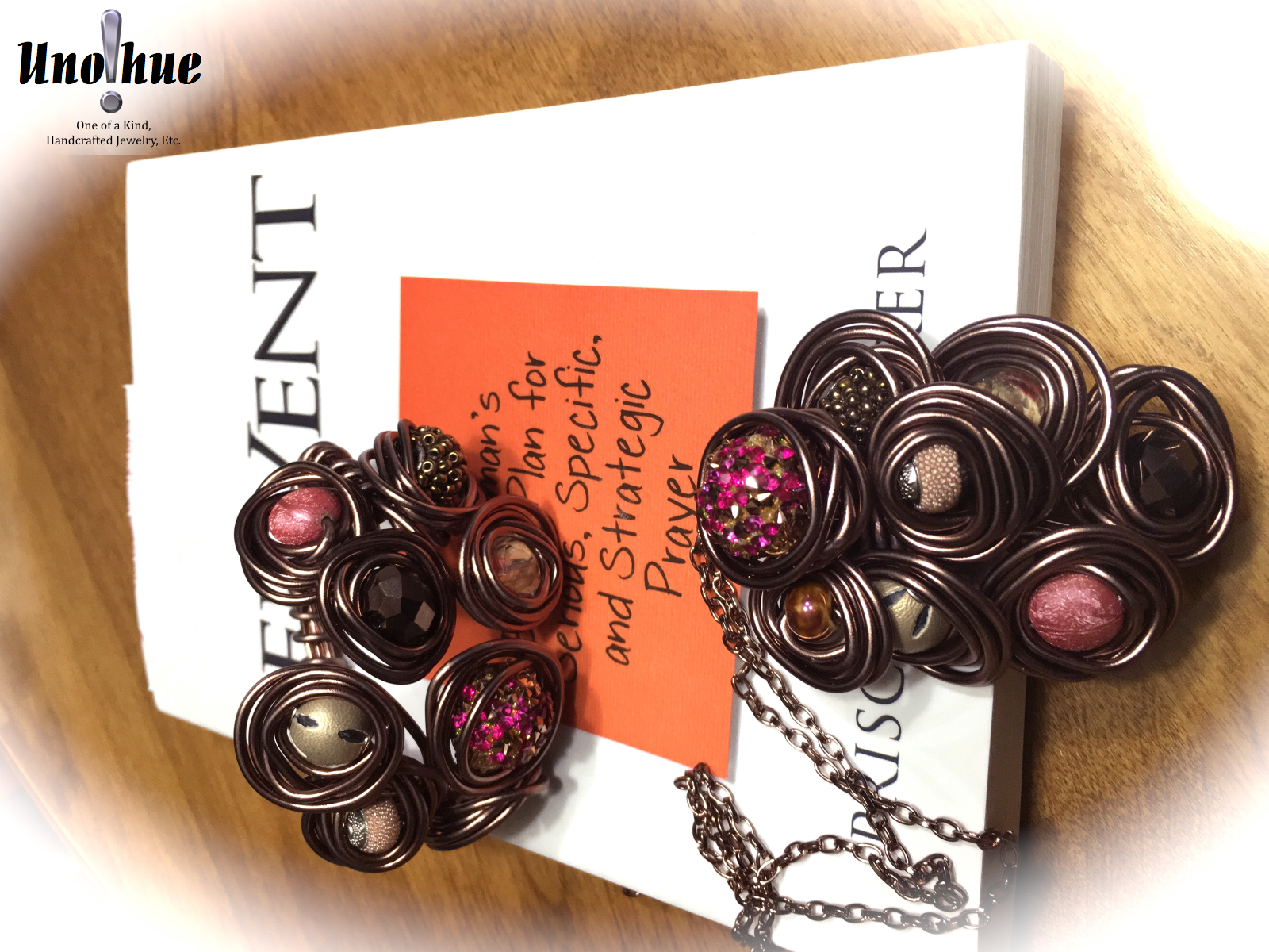 Novelty Collection Bronze and Pink